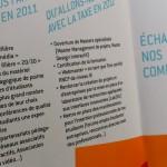 Plaquette de la taxe d'apprentissage 2012 de l'école multimédia
